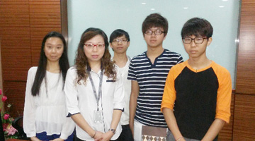 Xin Hwa CSR - University Student Visits to Xin Hwa Headquarters 2013